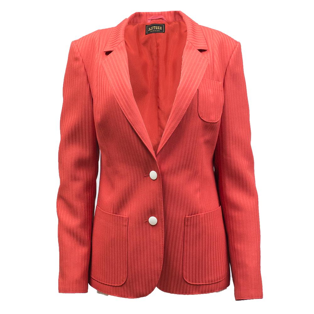 Kestilä, punainen jakku 70-luvulta - 40