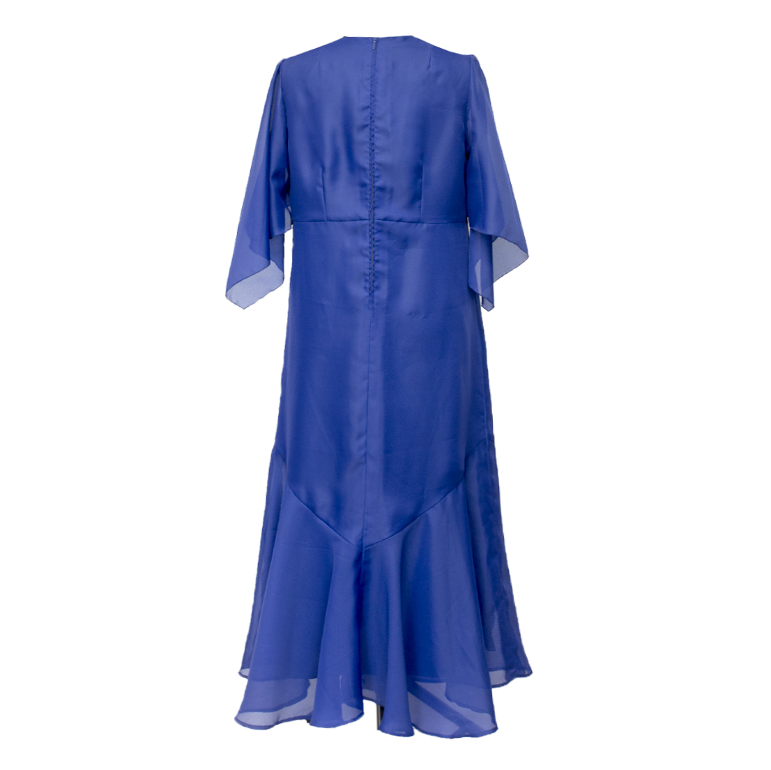 Anna Liisa, sininen vintage-iltapuku - 42