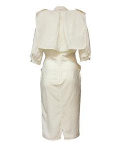 Tazzia, valkoinen kotelomekko 80-luvulta - 36