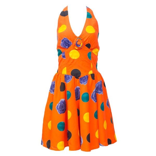 kellohelmainen mekko