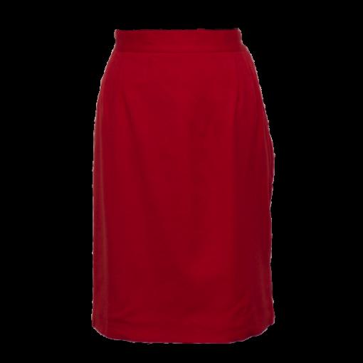 Eila Helén, punainen villakangashame - 40