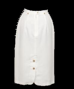 Tuomi Tuote Oy, valkoinen vintage-hame - 38