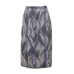 Kuviollinen trikoohame - XL