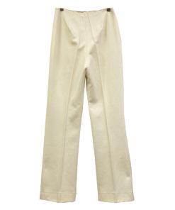 Bella, kotimaiset valkoiset housut 70-luvulta - 38/40