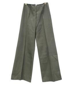Tabu, ruskeat leveälahkeiset housut - 36/38