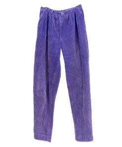 Violetit vakosamettihousut 80-luvulta - 36/38