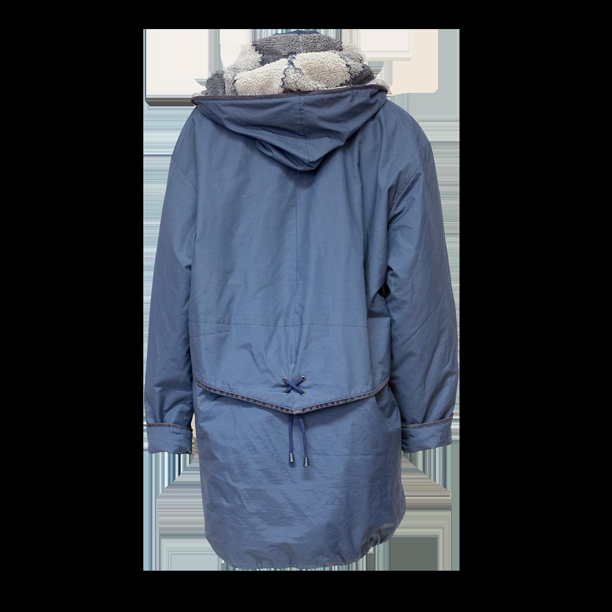 Top-Marine Oy, sininen talvitakki - L