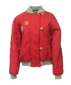 CHC, punainen bomber jacket 90-luvulta - L
