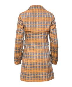 Tuomi, ruudullinen vintage-takki - 34/36