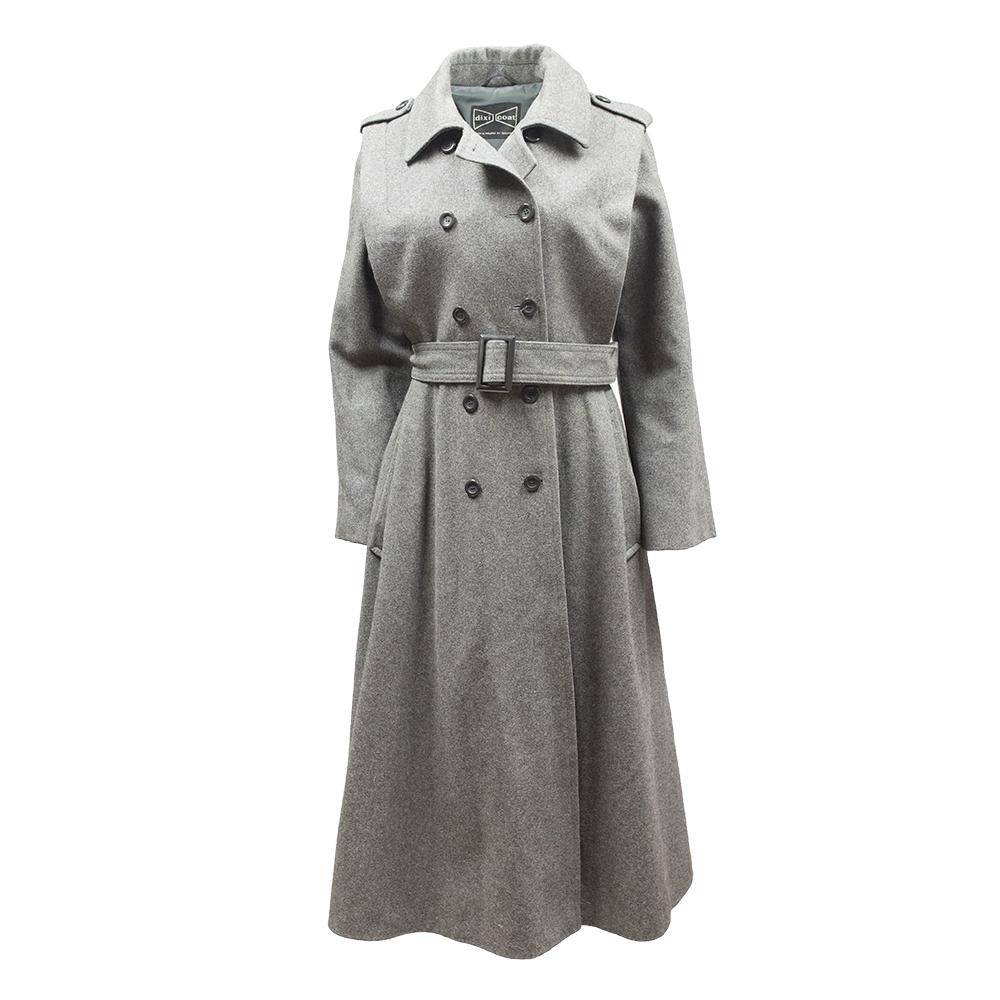 Dixi Coat, harmaa villakangastakki - 40
