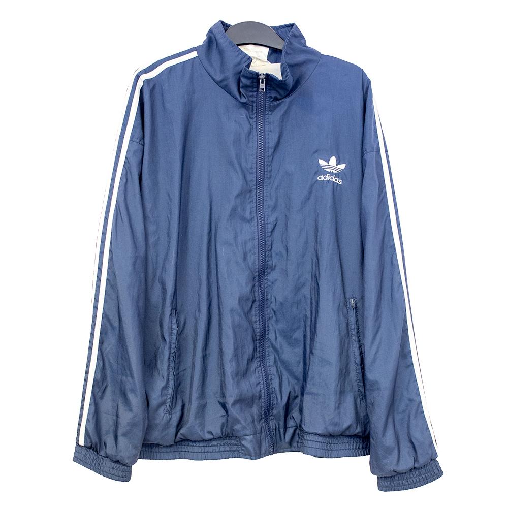 Adidas, sininen tuulitakki 90-luvulta - M/L