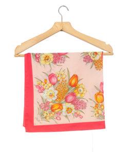 Kemtrade Holland, vaaleanpunainen tulppaanihuivi