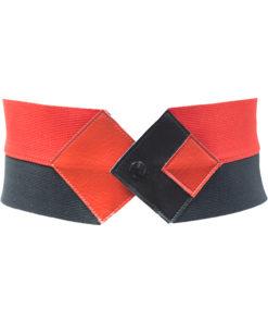 Puna-musta patellavyö 80-luvulta