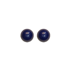 Siniset nappikorvakorut