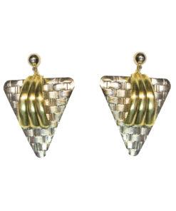 Kulta-hopeat korvakorut