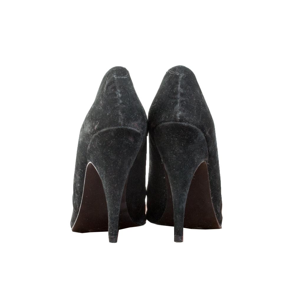 Ilovanni, mustat stiletto-korkokengät - 36