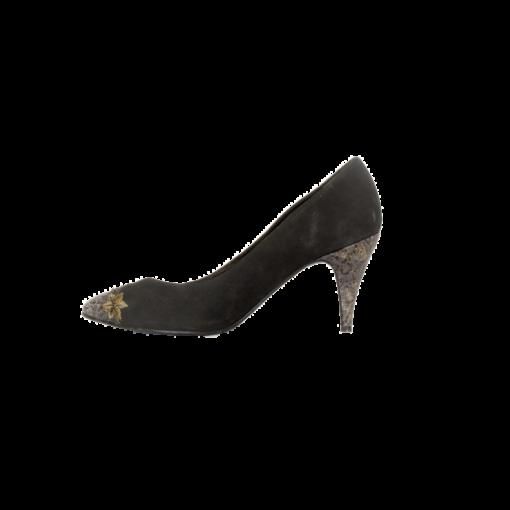Designer Collection, mustat mokka-avokkaat - 4,5