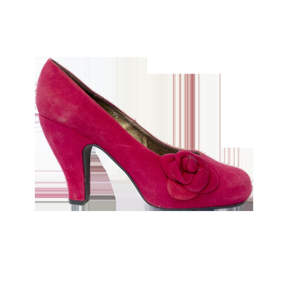 Tizziana, vadelmanpunaiset mokka-avokkaat - 39,5