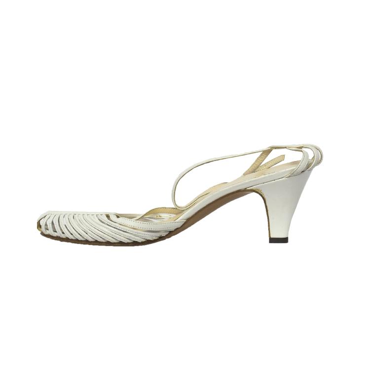 My Lady, italialaiset valkoiset sandaletit - 37