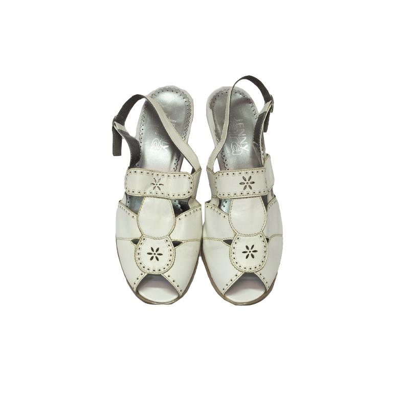 Jenny by Ara, valkoiset sandaalit - 5,5