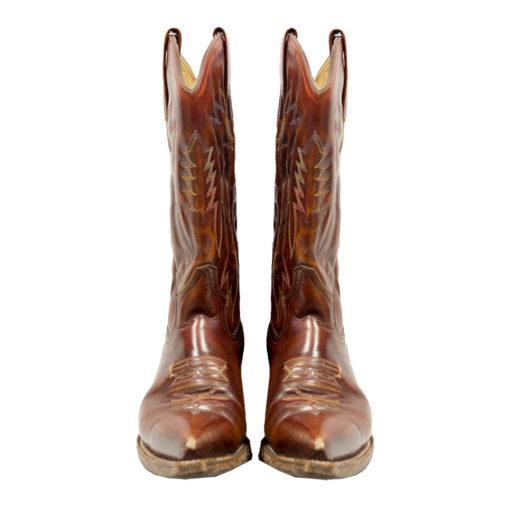 Naisten ruskeat bootsit - 40
