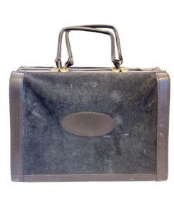 Musta vanha lääkärinlaukku