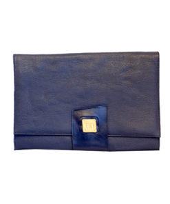 GG, iso sininen kirjekuorilaukku