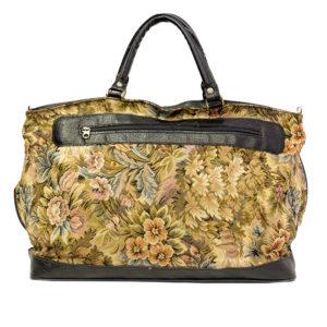 gobeliinikankainen laukku