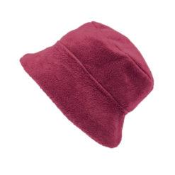 viininpunainen hattu